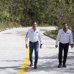 Concluye Gobernador Circuito IV Los Cafetales, que conectará a 38 comunidades serranas con 58 km