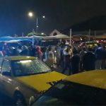 Taxistas bloquearon acceso a la Terminal de Autobuses
