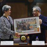Homenajea Lotería Nacional, 60 años de Autonomía de la UAQ