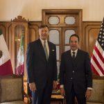 Reunión del Gobernador con el Embajador de Estados Unidos