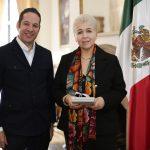 Presenta Gobernador proyecto de la Alianza Centro Bajío ante representante de OEA