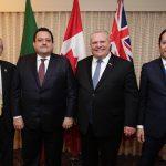 Gobernador FDS fomenta programa de colaboración con Estados Unidos y Canadá