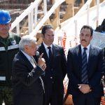 Asiste Gobernador al CV Aniversario de la Fuerza Aérea Mexicana