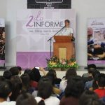 Presenta Rectora UAQ 2º Informe en campus SJR