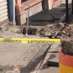Derriban medidor y provocan fuga de gas natural en el barrio de El Tepetate