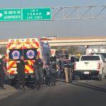 Tres detenidos además de cuatro elementos policiacos heridos, dejó una persecución