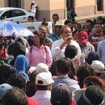 Protesta Antorcha, pide a Pancho Domínguez cumplir su palabra
