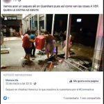 Identifican cuenta que incita a saqueos en Querétaro