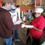 Ezequiel Montes sigue con campaña informativa y de prevención con locatarios y comerciantes