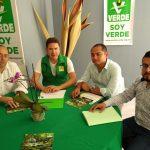 Astudillo nombra a Víctor Hugo Lozano nuevo Dirigente del Partido Verde en Tolimán