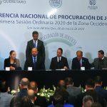 Inauguran Conferencia Nacional de Procuración de Justicia en Querétaro