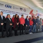 Gobernador entrega obras deportivas en la UPQ
