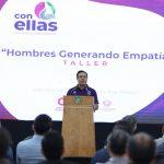 """Luis Nava encabeza taller """"Hombres Generando Empatía"""""""