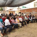 Luis Nava supervisa rehabilitación de vialidades en colonia Comerciantes