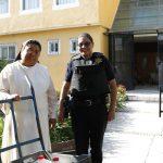 Policías de la SSPMQ aproximan sonrisas a casas hogar