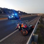 Un motociclista fallecido y un herido grave por caída en Libramiento Norponiente