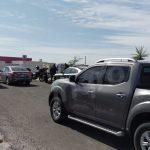 Ladrones dejaron su vehículo en carretera frente al Estadio
