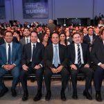 Gobernador de Querétaro asiste al Cuarto Informe de su homólogo de Tamaulipas