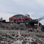 Aparatoso accidente en el FJS