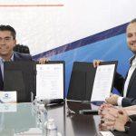 Firma de convenio entre Corregidora y la Universidad Mondragón