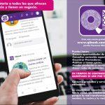Connie Herrera presenta sitio web a ciudadanos para que oferten sus servicios