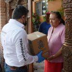 FAMILIAS DE TEQUISQUIAPAN RECIBEN APOYO POR CONTINGENCIASANITARIA