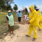 Apoya Connie Herrera con víveres en comunidades de la Sierra Gorda