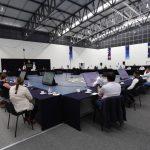 Gobernador expone ante las y los presidentes municipales el avance de la estrategia contra COVID-19