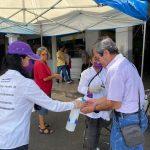 Entregó Connie Herrera apoyo alimentario a familias queretanas
