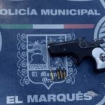 Detenido por portar un arma de fuego
