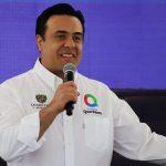 Luis Nava anuncia 1ra caja adherida a programa de apoyo a la población