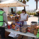 Que los apoyos de alimentos lleguen a la mayor parte del estado: Isabel Zamorano
