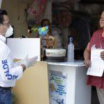 Supervisa Luis Nava la entrega de apoyos alimentarios y sanitarios