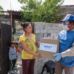 Reciben despensas habitantes de comunidades de El Marqués