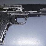 Se evita situación de riesgo al detener a sujeto con arma prohibida