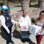 Mantiene el DIF Municipal su labor de apoyo a población vulnerable
