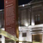 Protección Civil restringió el acceso al Jardín Guerrero y a explanada norte de la Alameda