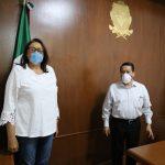 Elvia Montes anuncia obra federal por parte de la SCT en Ezequiel Montes