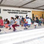Delegación Epigmenio González entrega comidas a población vulnerable
