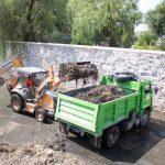 Retiran 496 toneladas de basura de los drenes previo a la temporada de lluvias