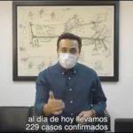 Reitera Luis Nava llamado a ser responsables en contra de la pandemia