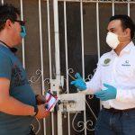 Luis Nava supervisa entrega de Apoyos Económicos Directos