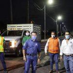Mayor alumbrado público en Corregidora