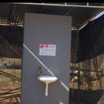 Instalan lavamanos en espacios públicos de Jalpan