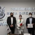 Presenta Connie Herrera su declaración patrimonial