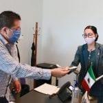 Connie Herrera presenta iniciativa para reconocer a médicos que enfrentan el COVID-19