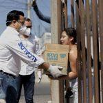 Hemos entregado más de 74 mil apoyos a familias queretanas en la contingencia: Luis Nava