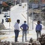 Recorrido de supervisión de obras en Corregidora