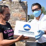 Entregan paquetes alimentarios en comunidad de Bravo