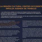 La Región Cultural Centro-Occidente impulsa agenda de trabajo